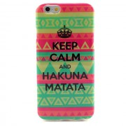 Чехол для iPhone 6 «Keep Calm&Hakuna Matata»
